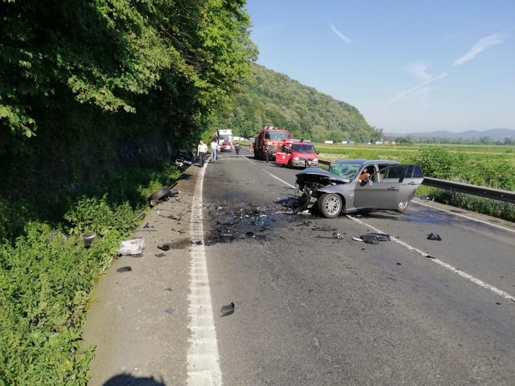 Accident pe DN7, între Deva și Arad