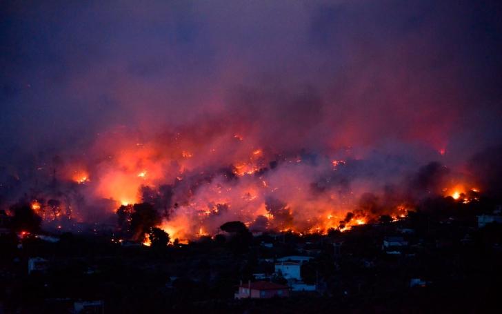 Image result for incendii grecia