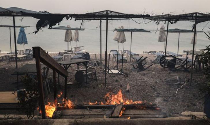 Incendiu in Grecia