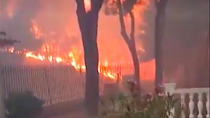 Incendiu Grecia - Mati