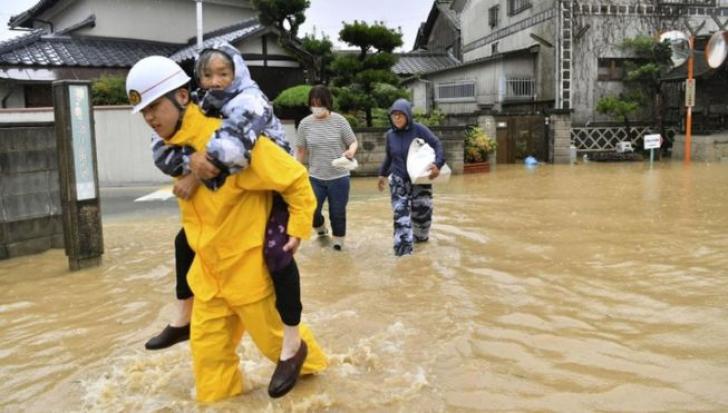 Inundaţii în Japonia: Guvernul anunţă un bilanţ de 199 de morţi