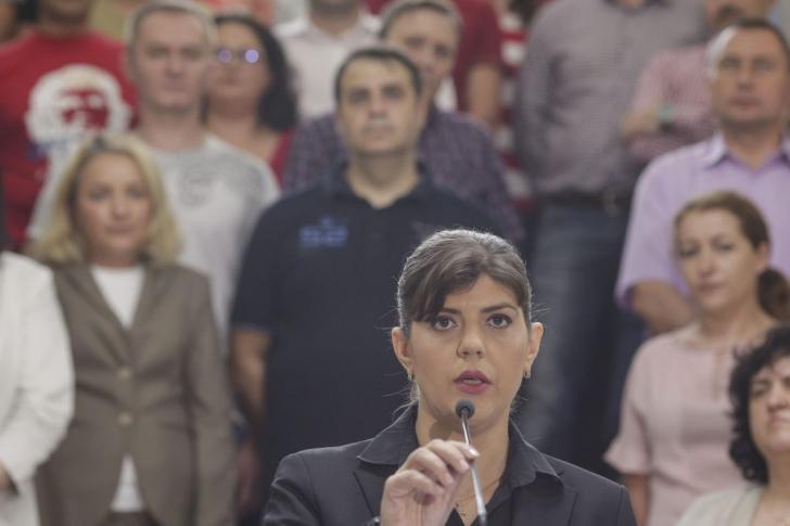"""Mesajul lui Kovesi pentru toţi românii: """"Corupţia poate fi învinsă! Nu abandonaţi!"""" - FOTO:Inquam Photos / Octav Ganea"""