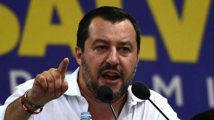 Matteo Salvini, declaraţii halucinante pe tema migranţilor
