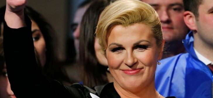 Kolinda, presedinta Croatiei