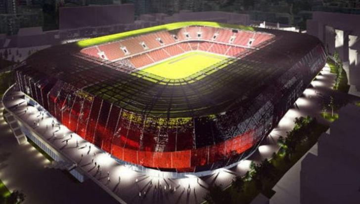 """Contract semnat pentru stadionul """"Arcul de Triumf"""""""