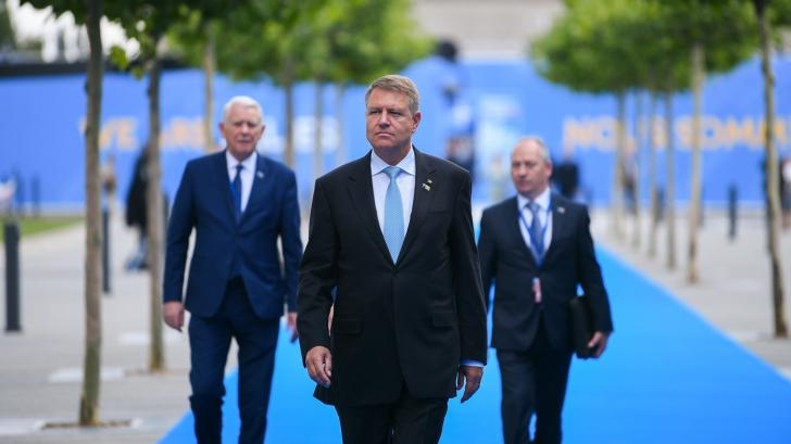 Propunerile făcute de Iohannis pentru intensificarea prezenţei NATO în zona Mării Negre / Foto: Administraţia Prezidenţială