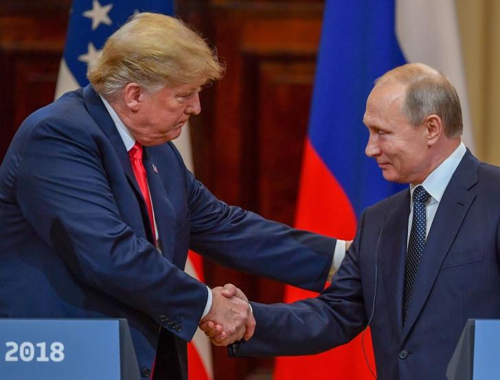 Donald Trump îl invită pe Vladimir Putin la Washington
