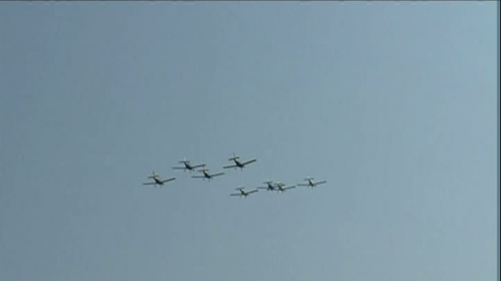 Spectacol pe cerul Capitalei. Aeronave supersonice şi de acrobaţie la show-ul aviatic BIAS 2018