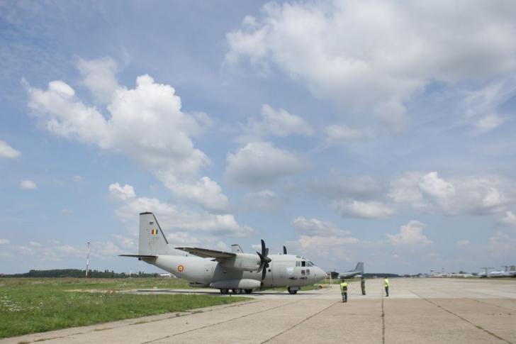 Două aeronave MApN, trimise în sprijinul autorităților elene