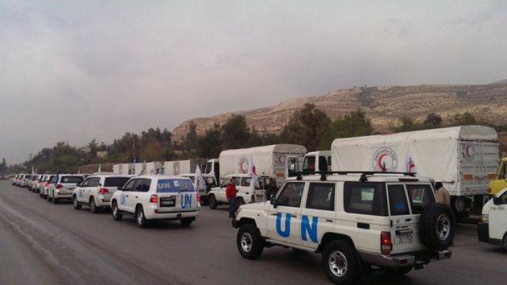 Franţa şi Rusia vor livra împreună ajutor umanitar în Siria