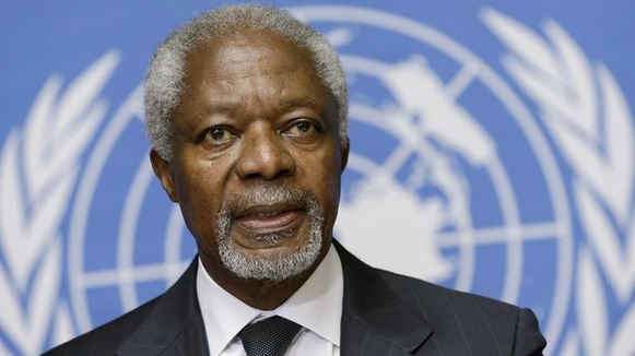 Kofi Annan a murit. Fostul secretar general al ONU avea 80 de ani
