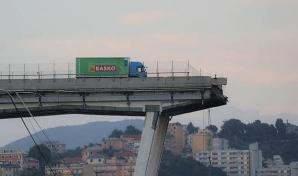 Pod prăbușit la Genova