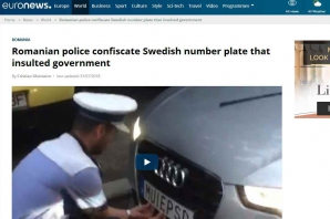 "Euronews scrie despre scandalul ""Fuck PSD"""