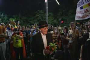 Mihai Sora, sâmbătă în Piața Victoriei