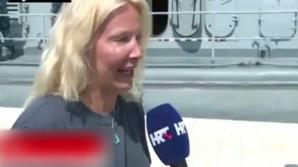 O femeie a fost salvată după 10 ore petrecute în mare. Ce a făcut pentru a supravieţui