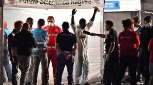Italia: Toţi migranţii de la bordul navei Diciotti au debarcat