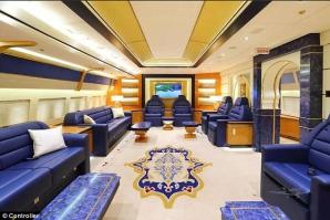 Avionul familiei regale din Qatar