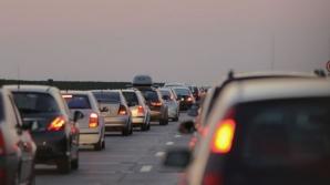 Atenţie şoferi! Trafic rutier îngreunat pe Autostrada Soarelui