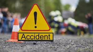 Accident dramatic. Un TIR trece pe roșu și se izbește în patru mașini. Un copil a fost rănit grav