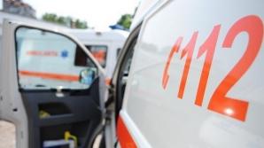 Accident cu patru victime în Bistriţa, între care doi copii