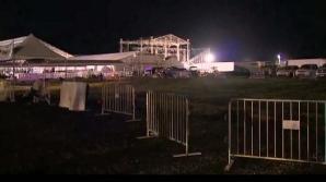 Accident la un concert Backstreet Boys. 14 răniţi, după ce o schelă metalică a căzut pe ei