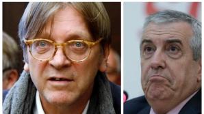 Guy Verhofstadt vs Tariceanu