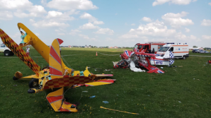 Starea pilotului rănit în accidentul aviatic din Suceava s-a agravat. Medicii sunt rezervaţi