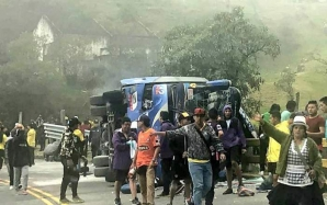 Accident în Ecuador