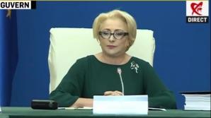 Dancilă, discurs despre protestul diasporei la începutul ședinței de Guvern din 23 august