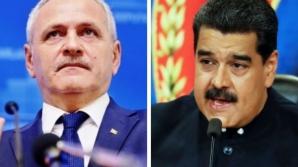 Liviu Dragnea, comparat cu dicatorul latino americam Maduro