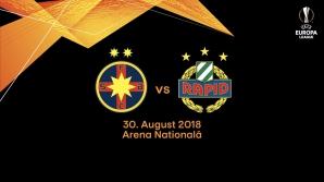 FCSB Rapid Viena
