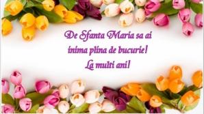 Mesaje felicitari de Sfanta Maria