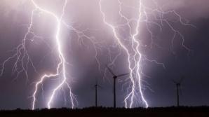Se întorc furtunile! COD GALBEN de ploi în mai multe judeţe