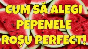 """Cum să alegi pepenele roşu perfect! Caută semnele """"pânză de păianjen"""" şi nu vei da greş!"""