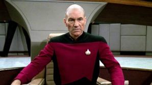 Patric Stewart - Jean-Luc Picard, în Star Trek