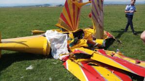 Veşti triste depre pilotul rănit în accidentul aviatic de la Suceava
