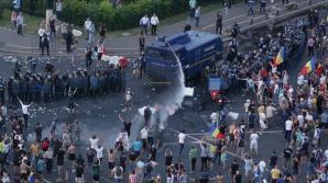 Protest cu violențe, vineri 10 august / Foto: Inquam Photos / Octav Ganea