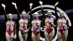 Echipa feminină a Rusiei, campioană europeană la gimnastică artistică