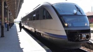 CFR a redeschis, după 6 ani, calea ferată spre Mănăstirea Putna