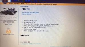 Site-ul Primăriei Capitalei a fost atacat. Mesajul anti-PSD, afișat sloganul pe pagină