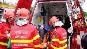 GRAV accident de muncă, la Sibiu: 3 bărbaţi, electrocutaţi în timpul serviciului
