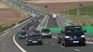 Aglomeraţie către mare pe Autostrada Soarelui. Restricţii în zona Feteşti din cauza unui accident