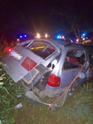 Carnagiu pe șosea la Tulcea!Un tânăr de 20 de ani a murit și un altul de 16 ani are piciorul amputat