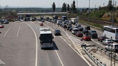 VIDEO Trafic intens pe Autostrada Soarelui în zona Feteşti, pe sensul spre litoral