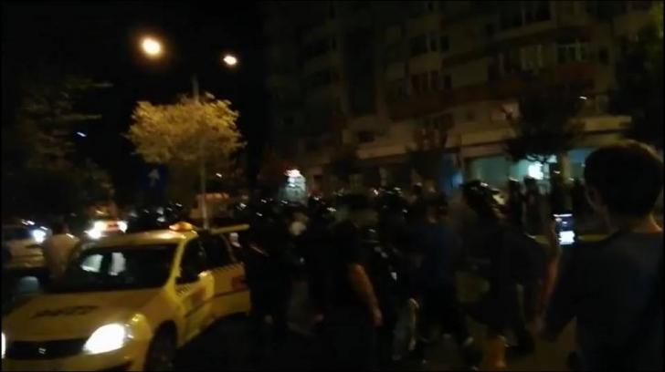 Turiști israelieni, bătuți la București de jandarmi