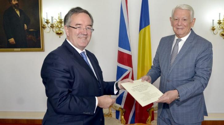 Marea Britanie are un nou ambasador în România. Cine este acesta şi unde şi-a început cariera