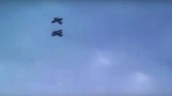 Accidentul aviatic mortal din Suceava, filmat de un martor - Imagini șocante
