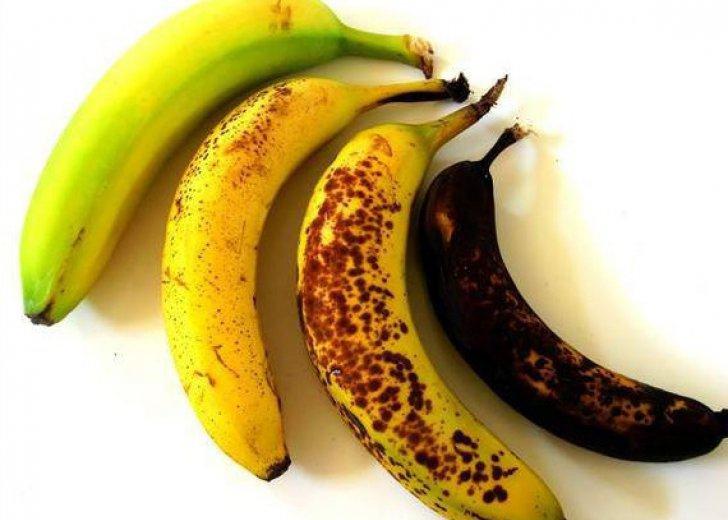 Care sunt cele mai sănătoase banane: verzi, galbene sau cu pete maronii?