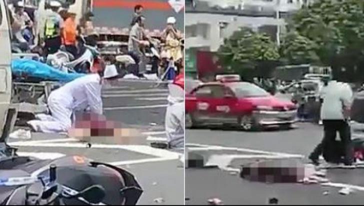 Un camion a intrat în pietoni, într-un oraș din China. Cel puțin un mort, mai mulți răniți grav