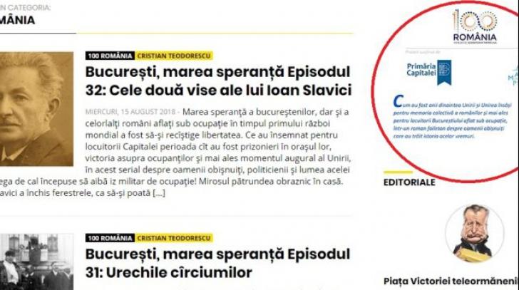 Rubrică editorială din Cațavencii, susținută de Primăria București